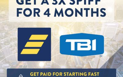 Summer Promo for New TBI Agents: Get a 3x SPIFF for 4 Months